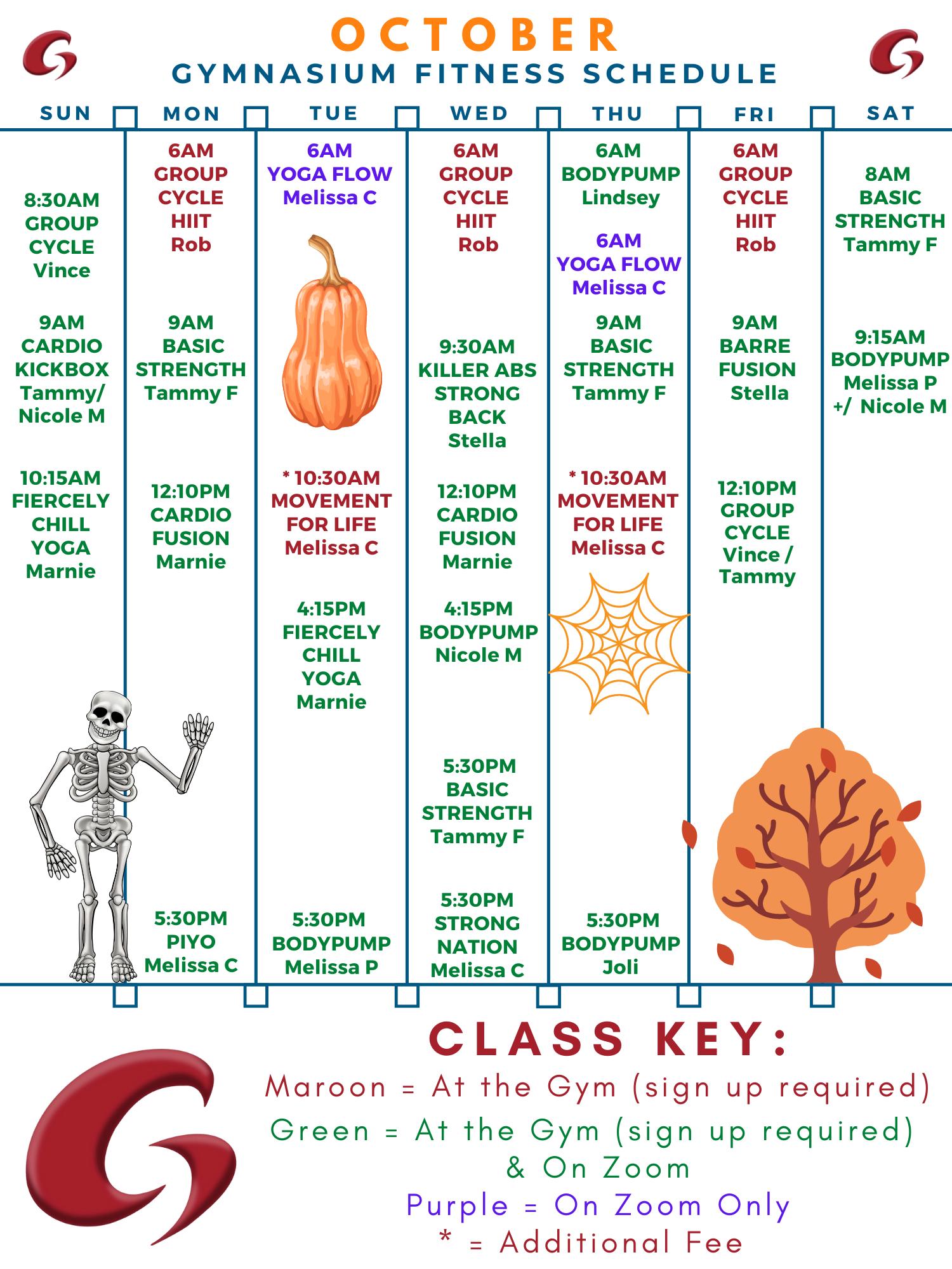 October 2021 Schedule (1)